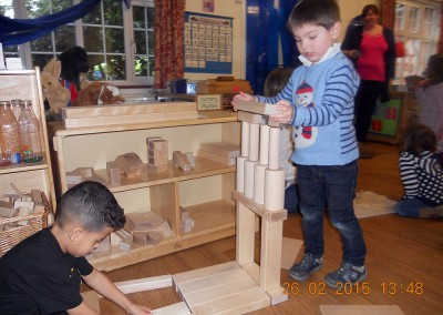 Building Blocks at Hare Hatch Montessori